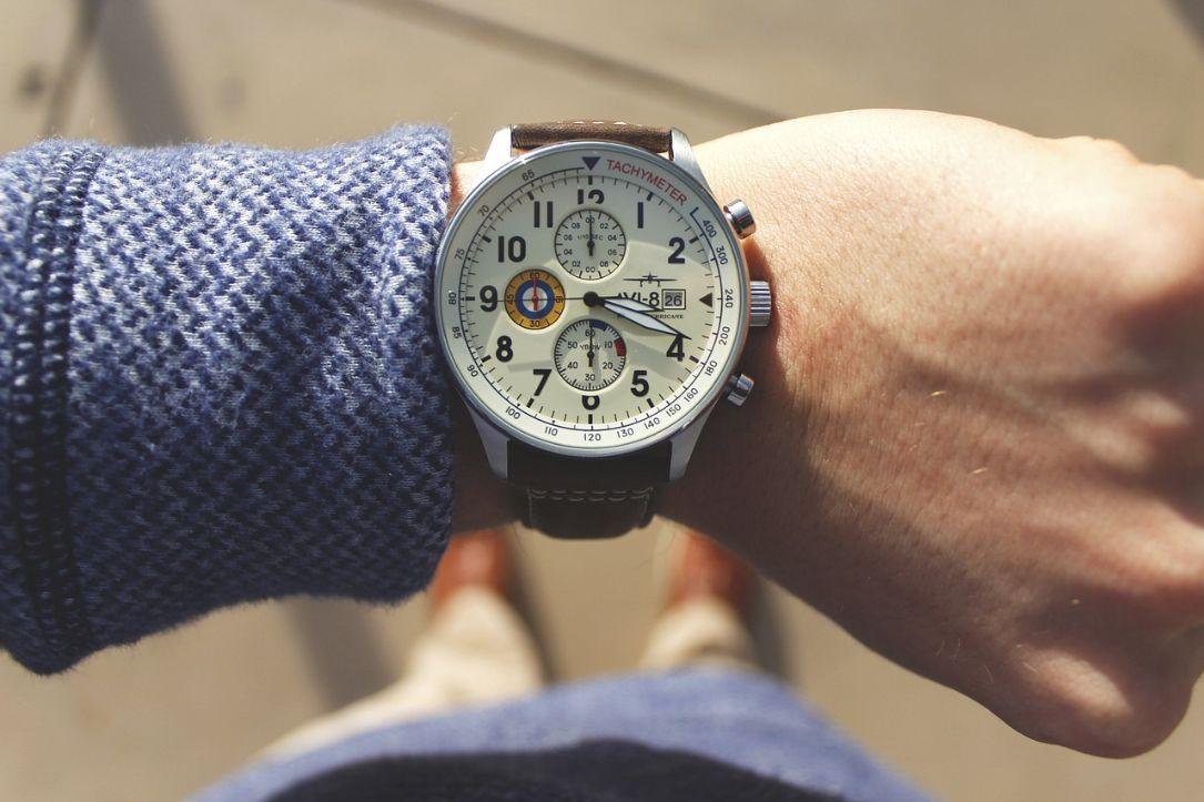 мъжки часовник с каишка